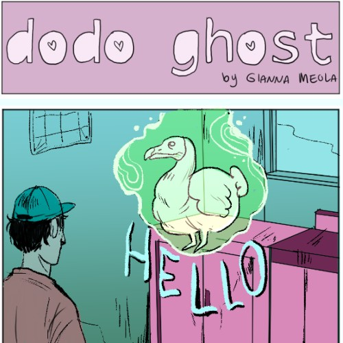 dodo ghost comic